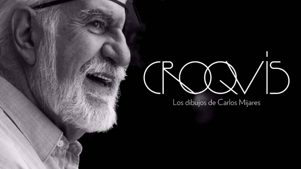 CROQUIS. Los dibujos de Carlos Mijares : Fotografía © Martirene Alcántara