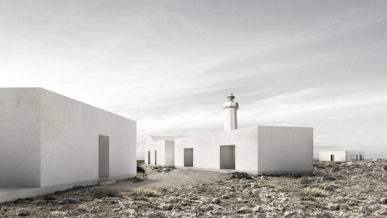 Segundo Premio Concurso Lighthouse Sea Hotel SEVAK ASATRYAN : Proposal © Álvaro Olivares, Esther Sanchis y Eduardo Sancho