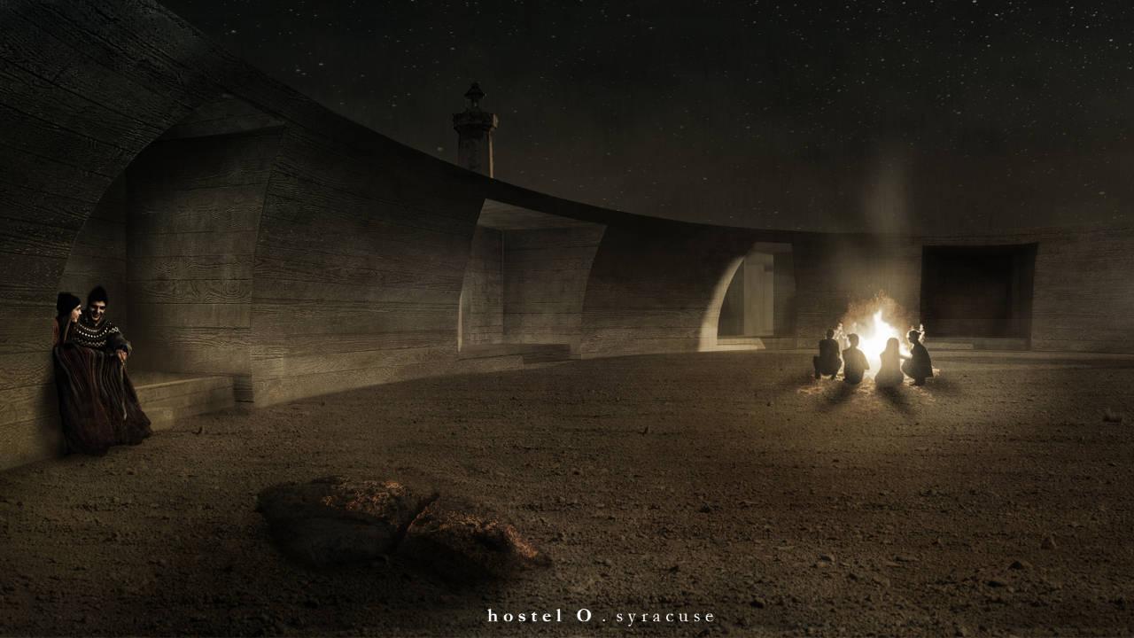 Primer Premio Concurso Lighthouse Sea Hotel MARESIA : Proposal © Leonardo Marchesi, Jorge Soares Mendes