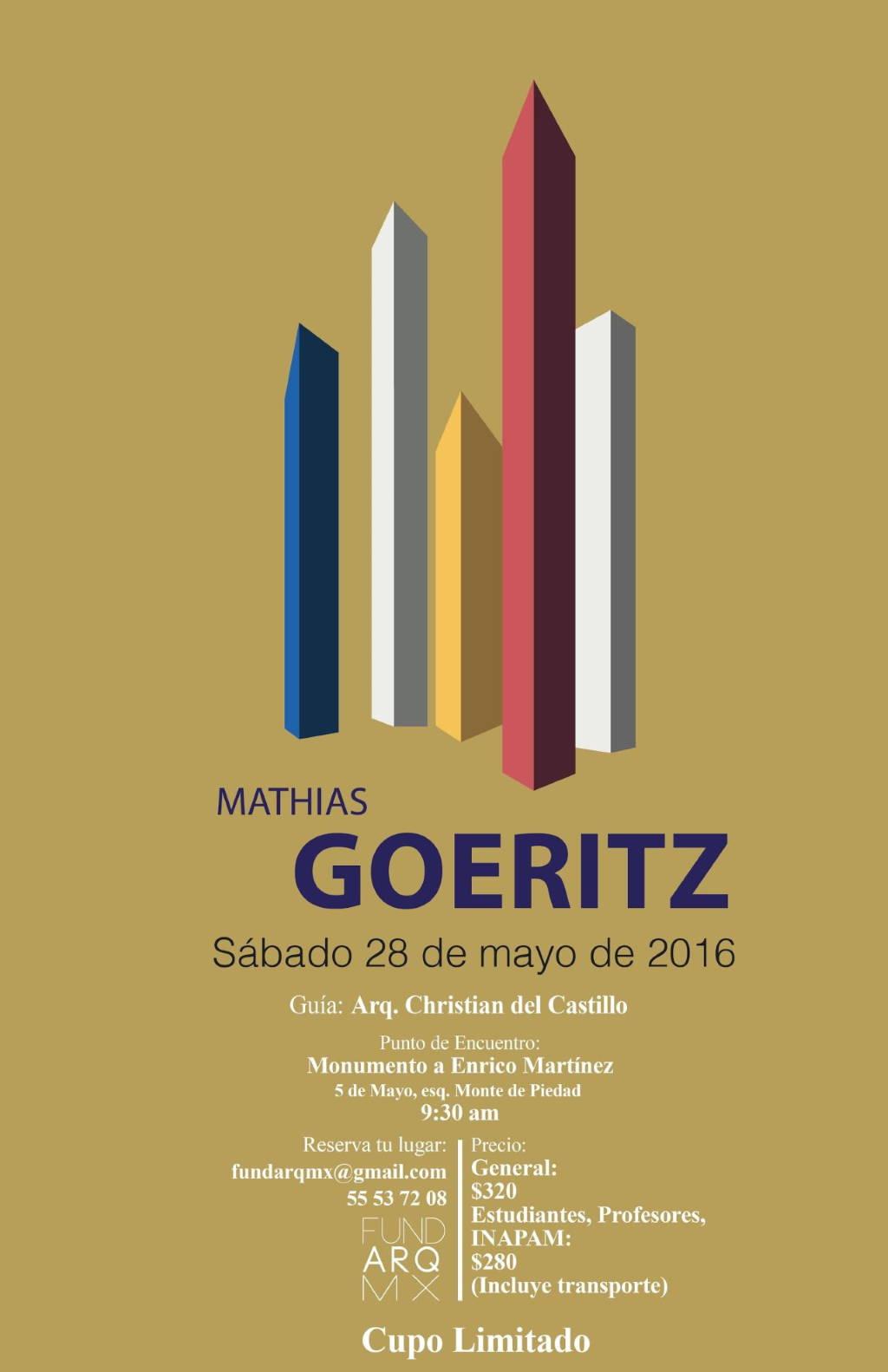 Recorrido por obras de Mathias Goeritz, FUNDARQMX Invita!