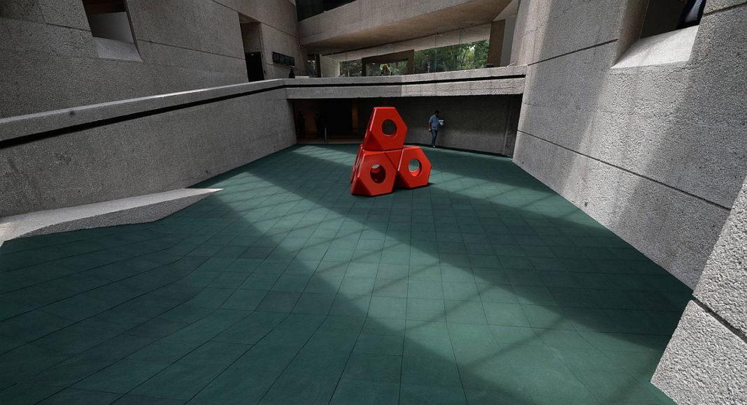 Los cuatro juegos se quedarán como parte de la colección del Museo Tamayo, por lo cual nuestro país será el tercer lugar en el mundo que contará con equipamientos de Noguchi, que sólo se encuentran en parques de diversiones en Sapporo, Japón, y Atlanta, Estados Unidos : Fogtografía © FSM, cortesía de la Secretaría de Cultura de México