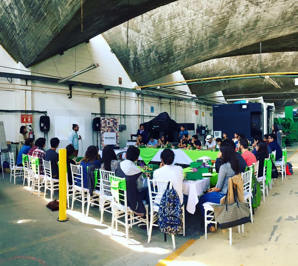 Materiam en el Workshop Diseña Smart con el Estudio Juskani Alonso : Fotografía © MASISA México