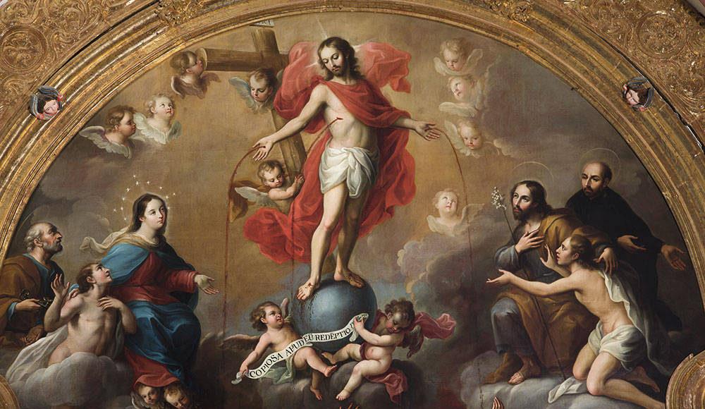 """""""Alegoría de la preciosa Sangre de Cristo"""" : Foto © Museo Nacional del Virreinato del INAH"""