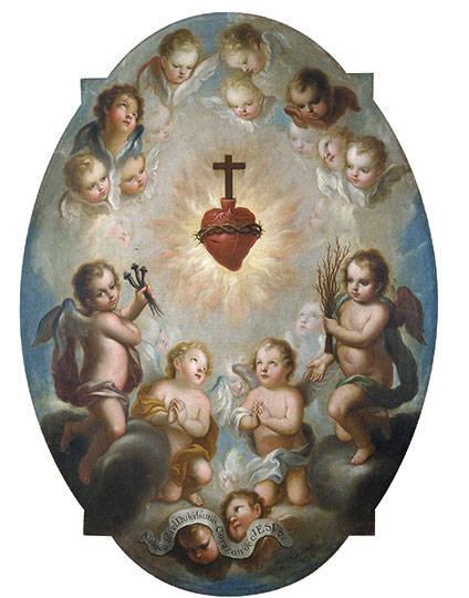 """""""El Sagrado Corazón de Jesús"""" : Foto © Museo Nacional del Virreinato del INAH"""