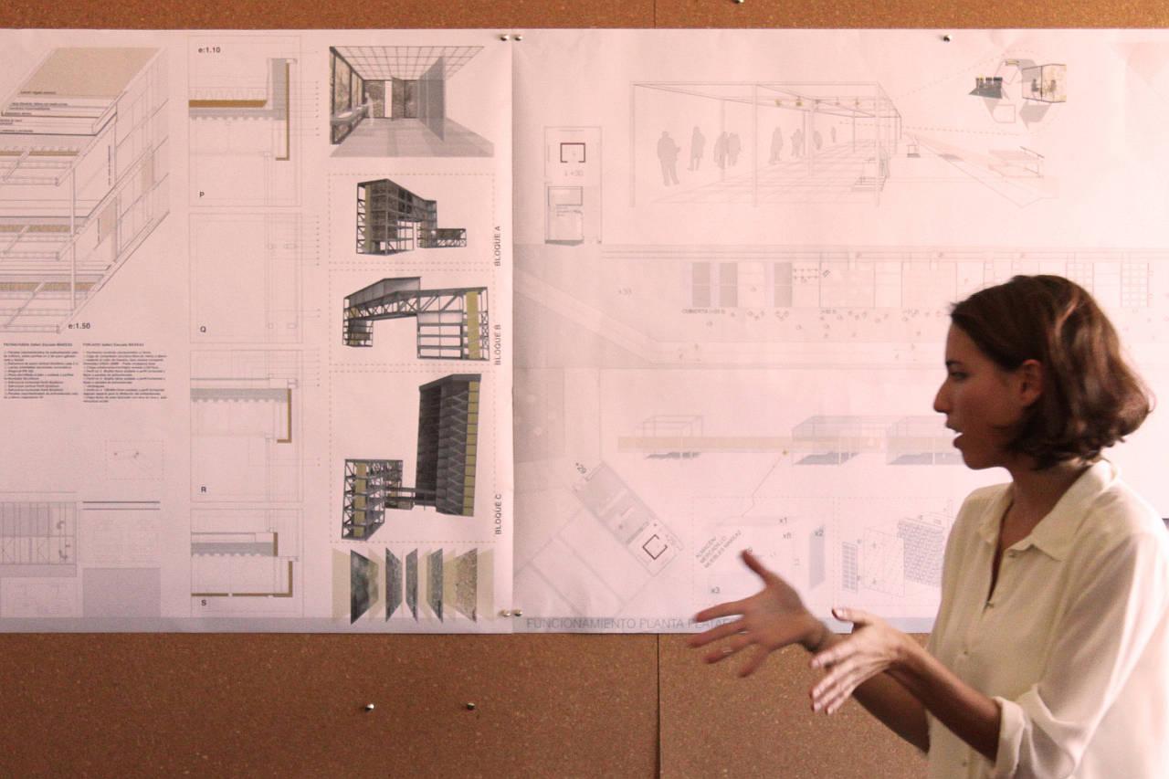 Young Talent Architecture Award (YTAA) Monica : Photo © Anna Salagiralt, cortesía de la Fundació Mies van der Rohe