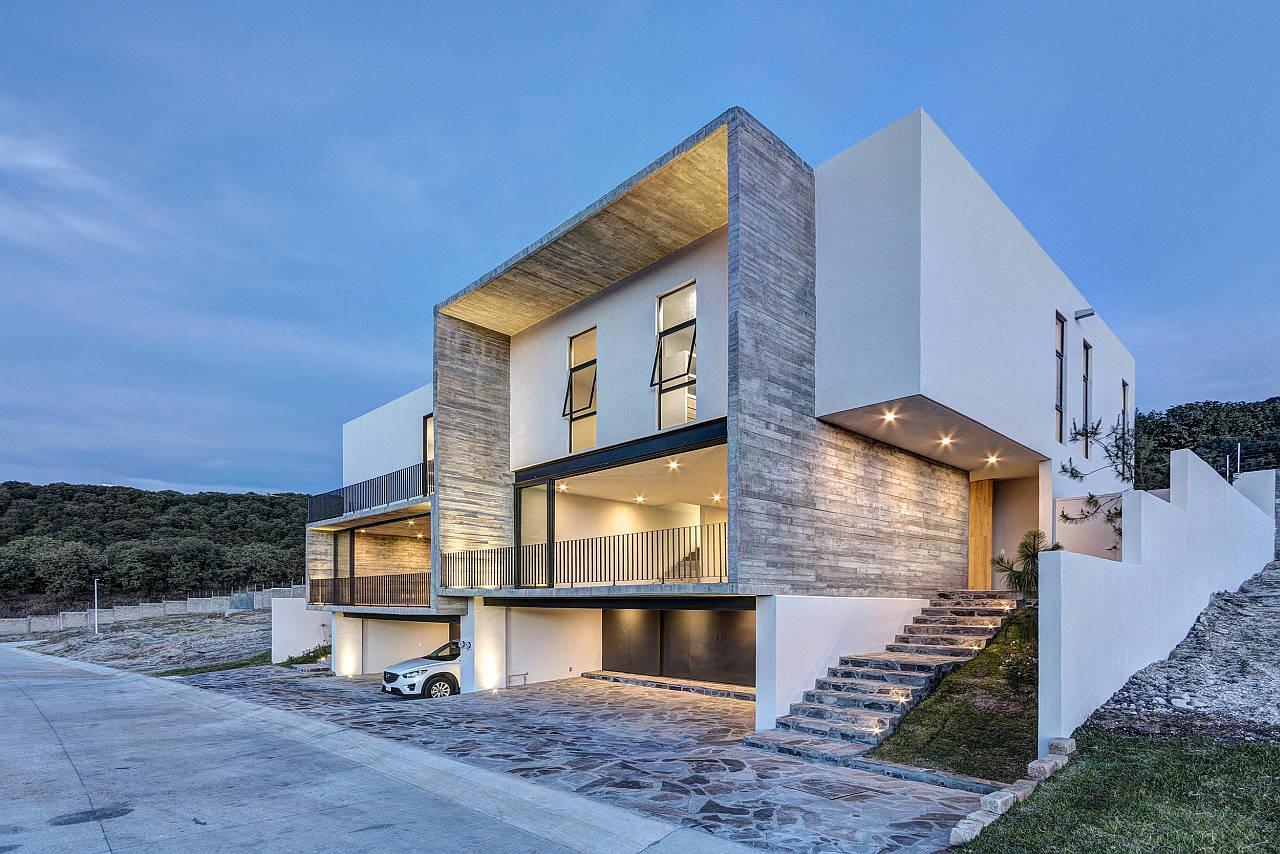 Casas Cuatas Los Robles diseño de La Desarrolladora - arquiRED