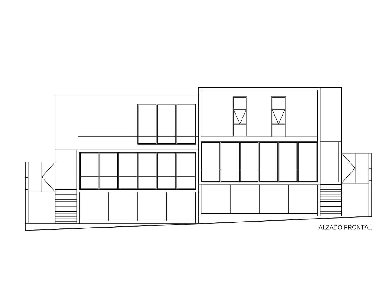 Casas cuatas los robles dise o de la desarrolladora arquired - Alzado arquitectura ...
