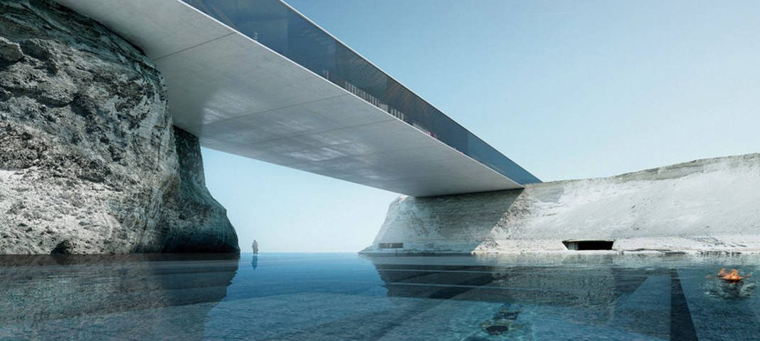 Destination Spa and Resort by Oppenheim Architecture wins Architizer A+ Award : Render © Luxigon