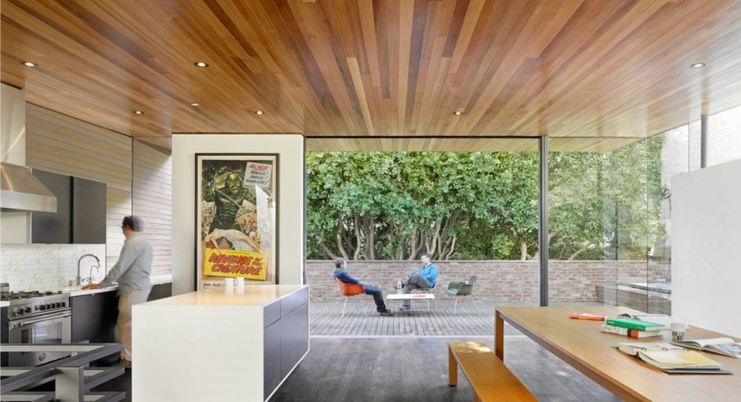 Hybrid Design view of informal conference/pinup area by Terry & Terry Architecture : Photo © Bruce Damonte
