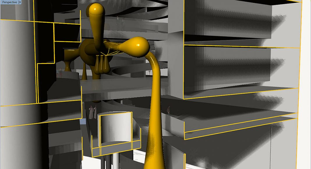 Valkyrie Rán Instalation Render : Render © ARoS Kunstmuseum