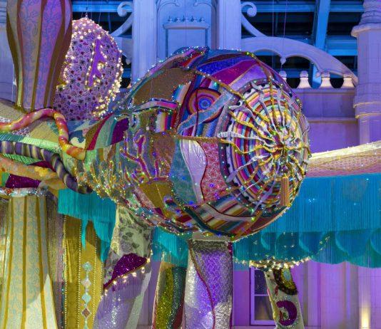 Joana Vasconcelos Valkyrie Octopus, 2015 Detalj : Foto © Luis Vasconcelos