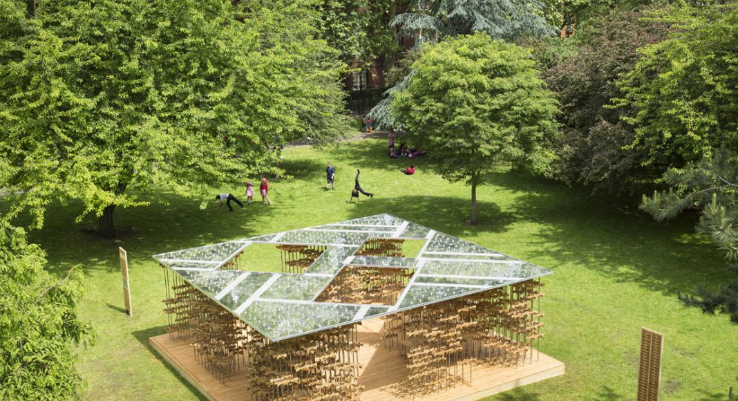 "Triumph Pavilion 2016 ""Energy Pavilion (Pinwheel)"" by Five Line Projects : Photo credit © Sergio Grazia and © Luc Boegly"