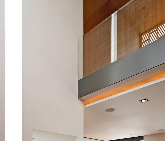 Espacios Interiores Casa X proyecto de Agraz Arquitectos y Elías Rizo : Fotografía © Mito Covarrubias
