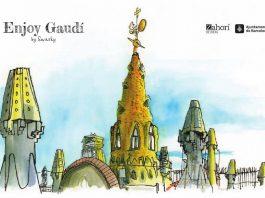 Enjoy Gaudí, Colección: Sketch Guides, Textos e ilustraciones, Swansky, coedición con: Zahorí de Ideas y la Direcció d'Imatge i Serveis Editorials : Photo © Barcelona Llibres