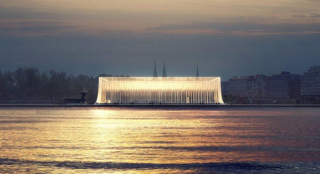 Asif Khan: Guggenheim Helsinki, Finland, 2015 : Image courtesy © Asif Khan