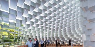 Serpentine Pavilion 2016 designed by Bjarke Ingels Group (BIG); (10 June – 9 October) : Photo © Iwan Baan