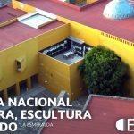"""Escuela Nacional de Pintura, Escultura y Grabado """"La Esmeralda"""", Centro Nacional de las Artes : Fotografía © Secretaría de Cultura de México"""