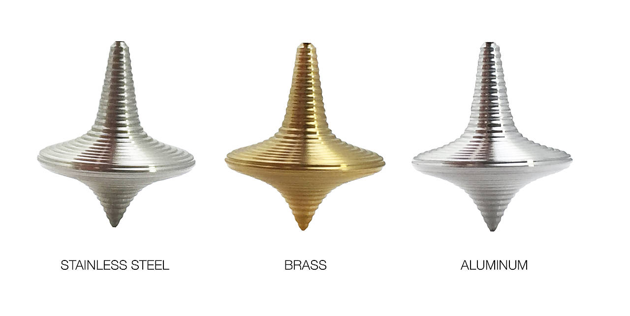 Zen Spinning Top Materials - Precisos, Durables, Atemporales : Photo © ENSSO