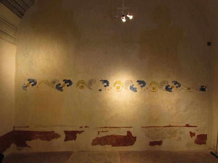 Pintura Mural del Ex Convento de San Pablo, en Oaxaca : Foto © Fernanda Martínez, INAH