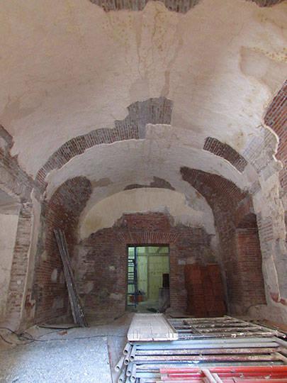 Bóvedas del refectorio : Foto © Fernanda Martínez, INAH
