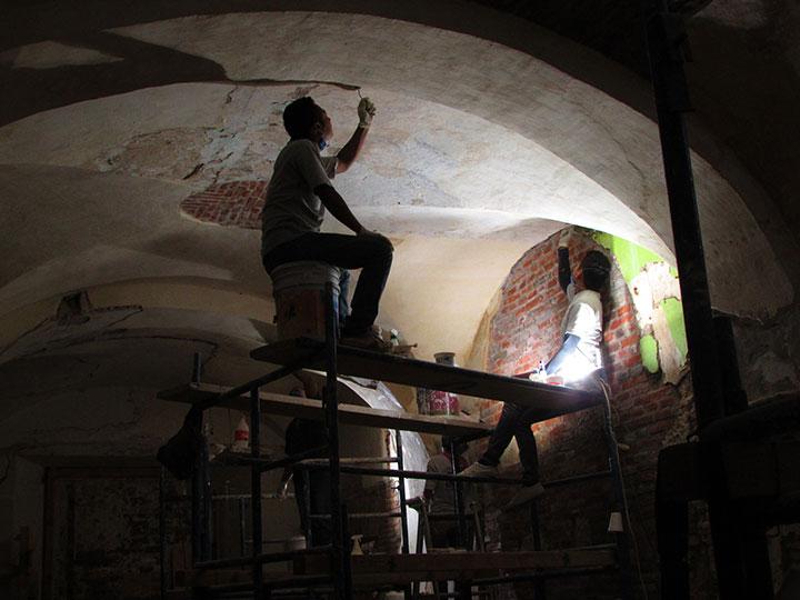 El INAH restauró la crujía norte del Ex Convento de San Pablo, en Oaxaca : Foto © Fernanda Martínez, INAH