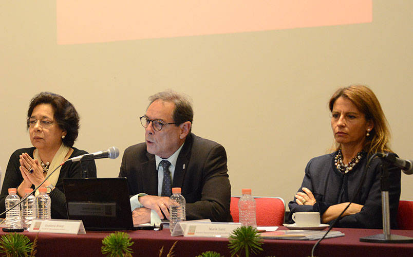 Gustavo Araoz, presidente internacional del ICOMOS : Foto © Mauricio Marat INAH