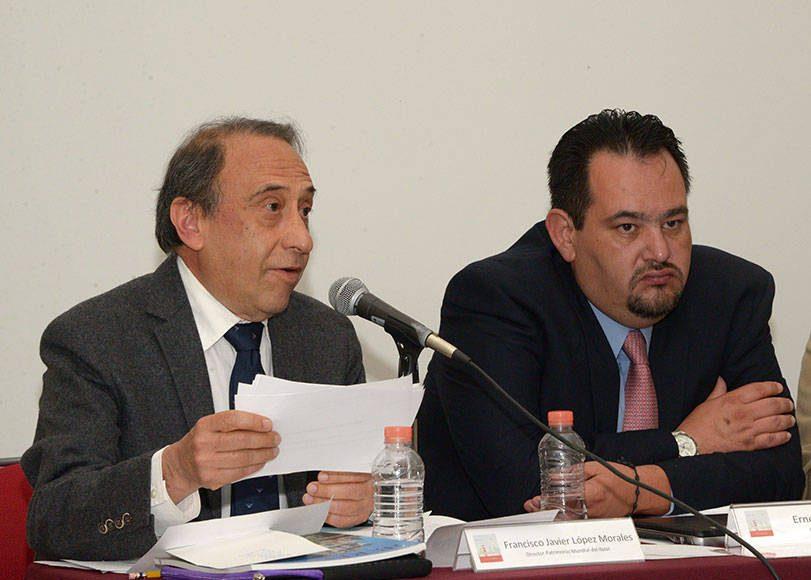 Francisco López, director de Patrimonio Mundial del INAH : Foto © Héctor Montaño INAH