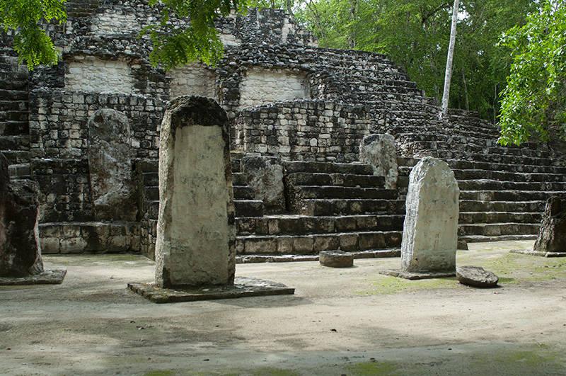 Zona Arqueológica de Calakmul : Foto © Adalberto Ríos Szalay