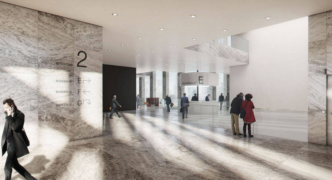 New Amsterdam Courthouse Interior by KAAN Architecten : Render © Beauty & The Bit and © KAAN Architecten