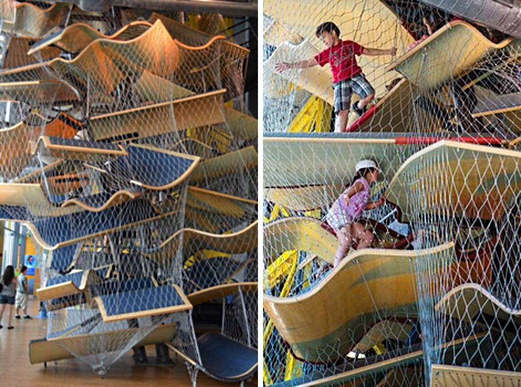 New Balance Cimb at Boston Children's Museum in Massachusetts : Photo courtesy of © Luckey Climbers LLC