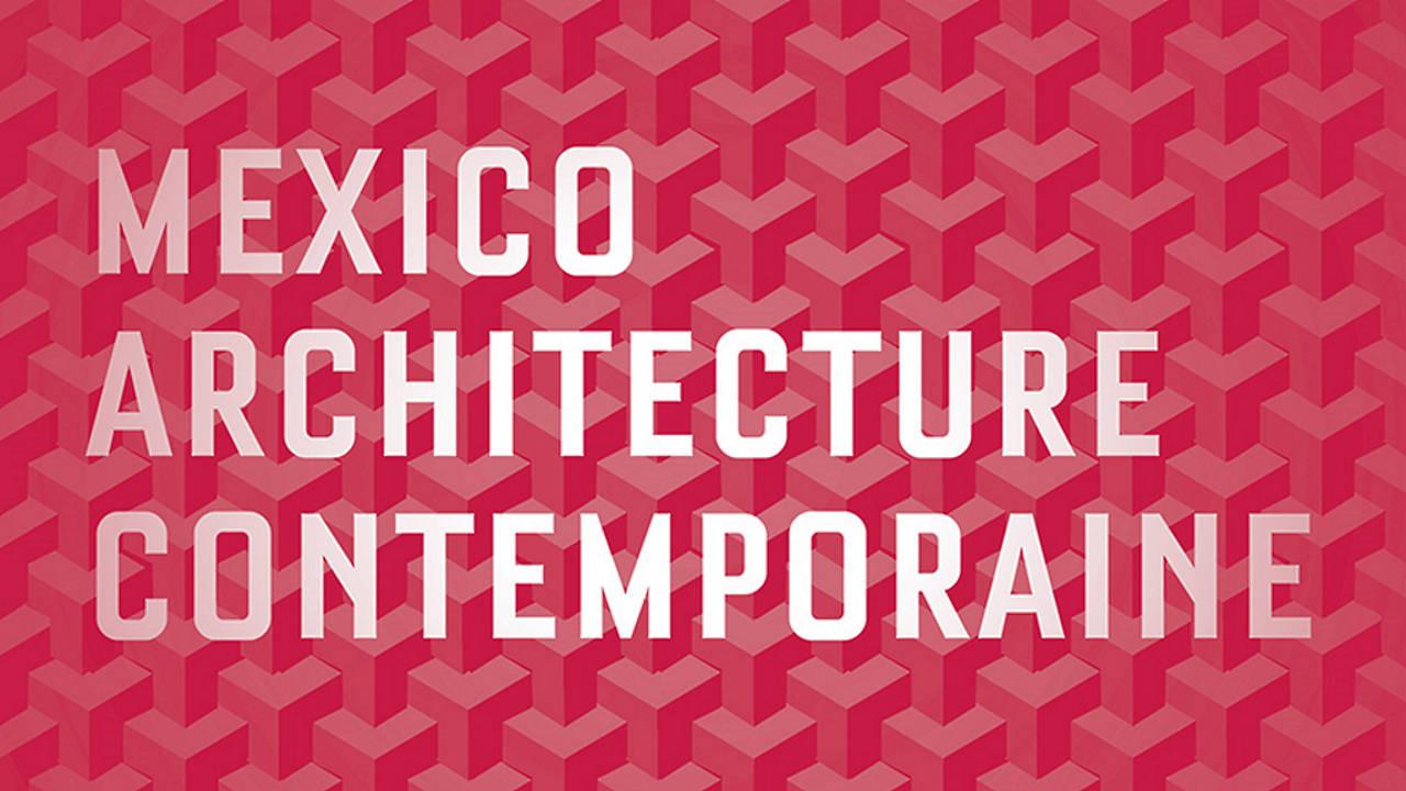 Exposición México Arquitectura Contemporánea : Poster © Villa des Arts de Rabat, Marruecos