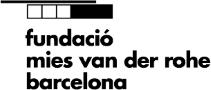 Logo © Fundació Mies van der Rohe Barcelona
