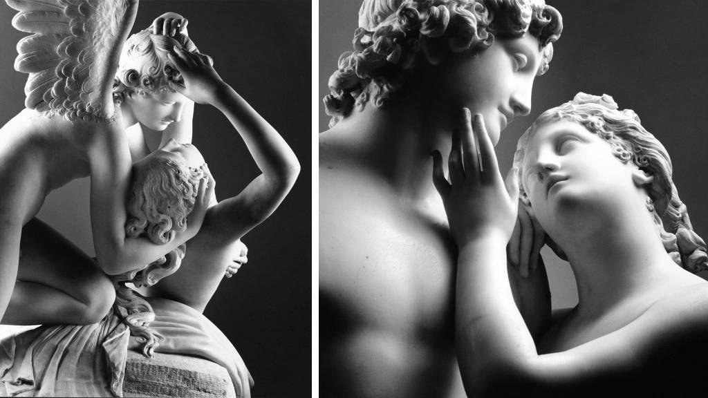 Sensualidad y Belleza: Antonio Canova y Mimmo Jodice : Poster © Secretaría de Cultura de México - © Instituto Italiano de Cultura