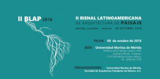 II Bienal Latinoamericana de Arquitectura de Paisaje : Cartel © SAPM