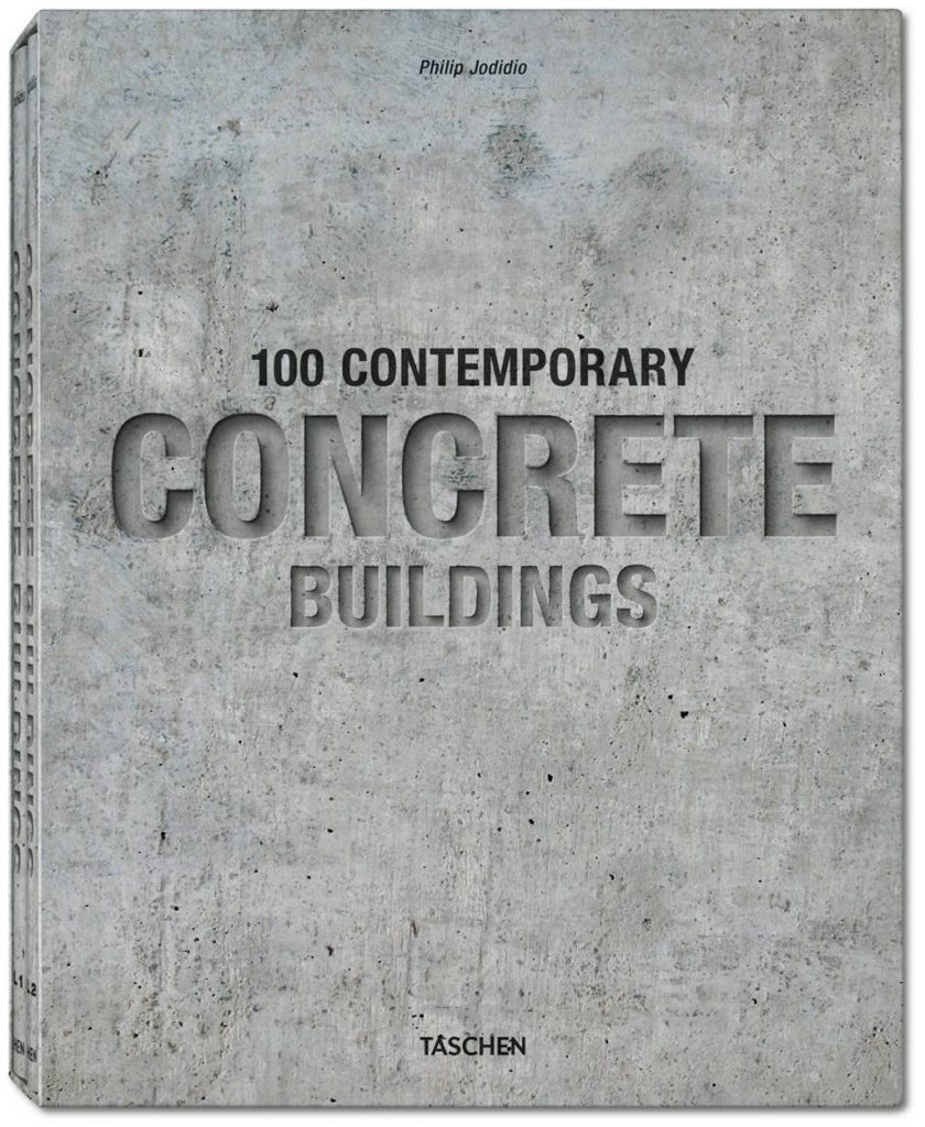 100 Contemporary Concrete Buildings, Philip Jodidio, Tapa dura, estuche con 2 vols., 24 x 30.5 cm, 730 páginas : Photo credit © TASCHEN GmbH