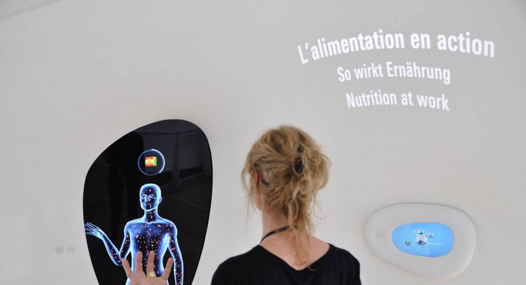 Kinect game 'The bodyscan' helps to understand the impact of certain foods on the human body : Photo credit © Mike Bink