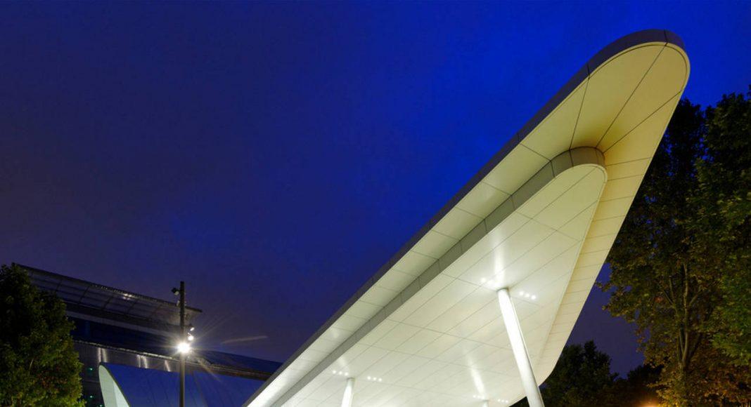 Evergreen campus reception pavilion by Arte Charpentier Architectes : Photo © Augusto Da Silva