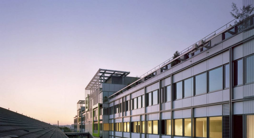 Eole Headquarters Evergreen Campus Montrogue, France : Photo credit © LK Photographe