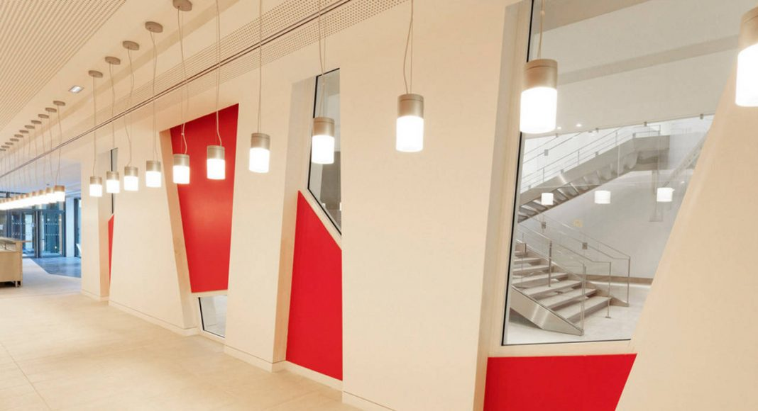 Interior Eole Headquarters Evergreen Campus Montrogue, France : Photo credit © Augusto Da Silva
