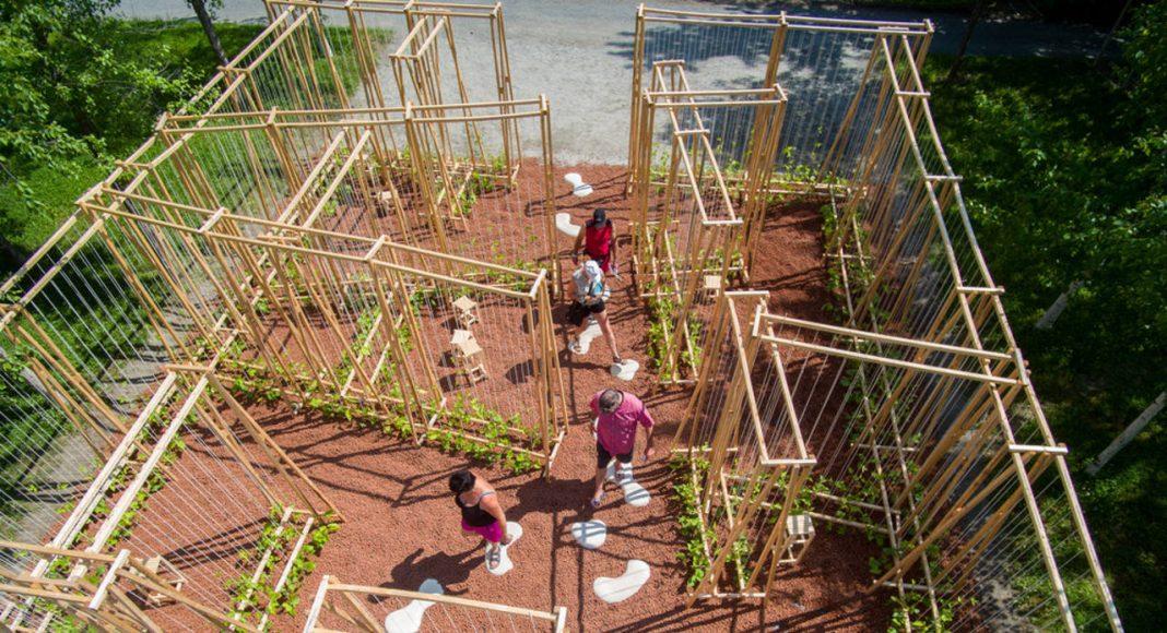 LA MAISON DE JACQUES by Romy Brosseau, Rosemarie Faille-Faubert, Émilie Gagné-Loranger, Québec (Québec) Canada : Photo credit © Martin Bond