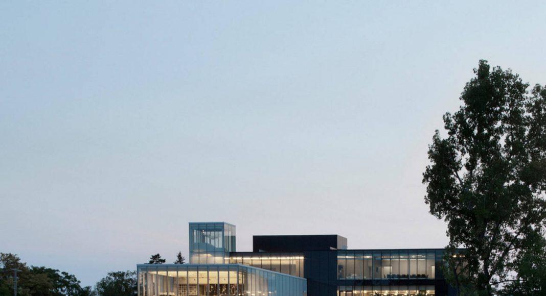 Joliette art Museum designed by Les Architectes FABG : Photo credit © Steve Montpetit