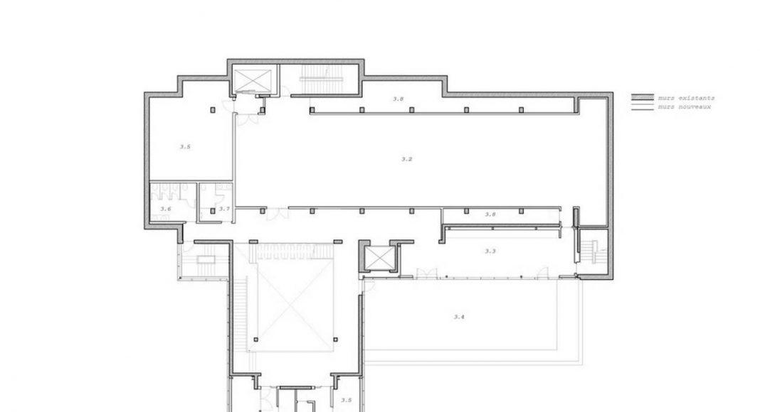 Joliette art Museum designed by Les Architectes FABG : Drawings © Les Architectes FABG