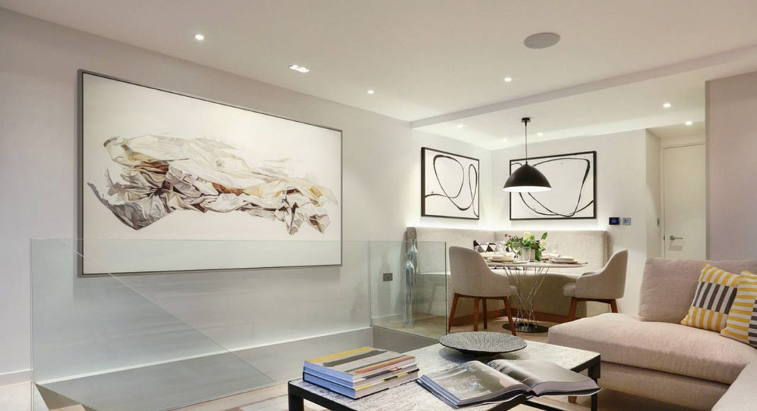 Living Room, Upper Ground Floor - Southwood by LLI Design : Photo credit © Alex Maguire