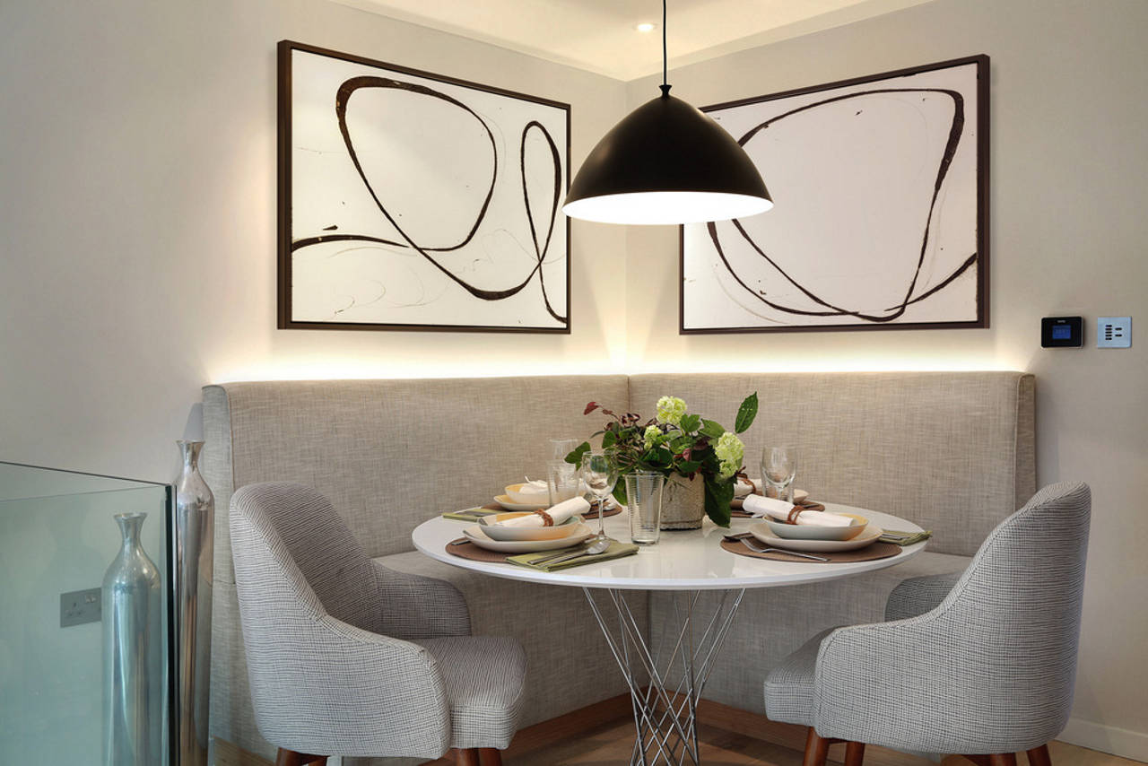 Dining Area, Upper Ground Floor - Southwood by LLI Design : Photo credit © Alex Maguire