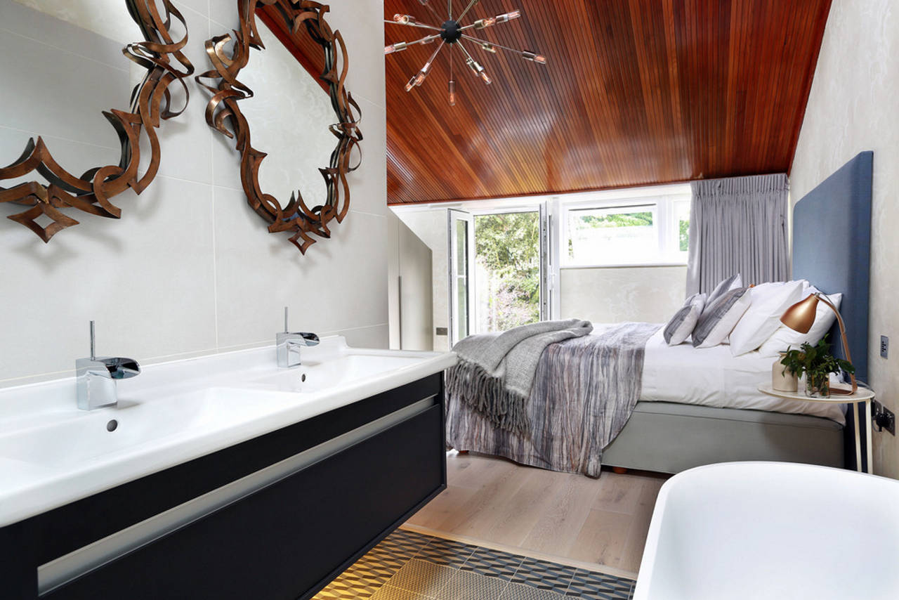 Master Suite 2, Second Floor - Southwood by LLI Design : Photo credit © Alex Maguire
