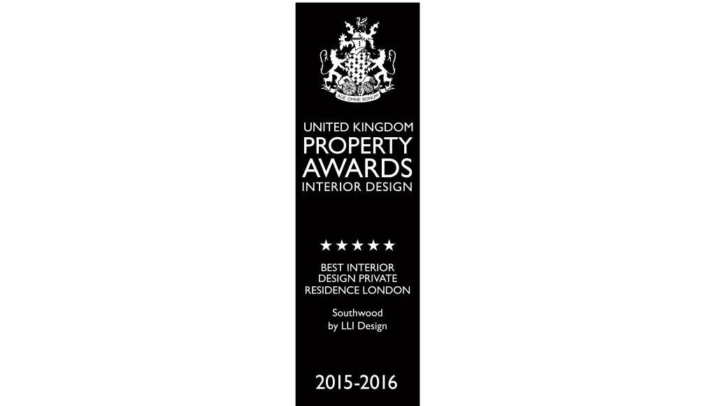 Southwood - Best Interior Design Private Residence, London - UK Property Awards - 2015 / 16 : Photo credit © United Kingdom Property Awards