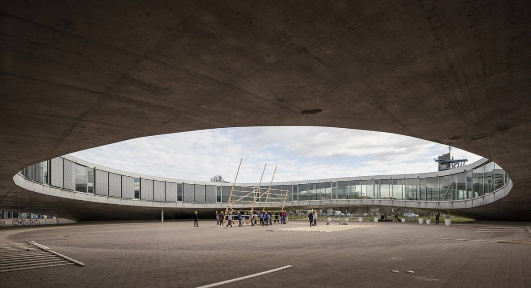 HOUSE ONE Proto-Estructura : Photo © Dylan Perrenoud - ALICE EPFL