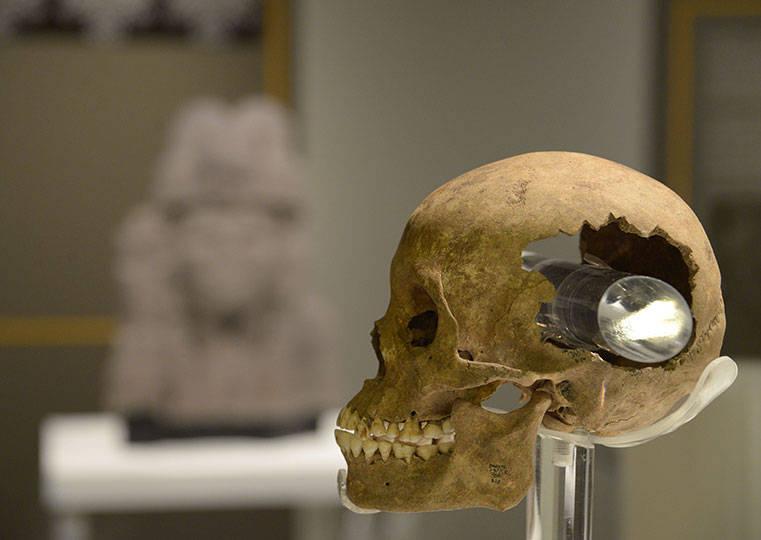 La muestra Revelaciones de la arqueología mexica conmemora 25 años del Programa de Arqueología Urbana del INAH : Foto © Héctor Montaño INAH