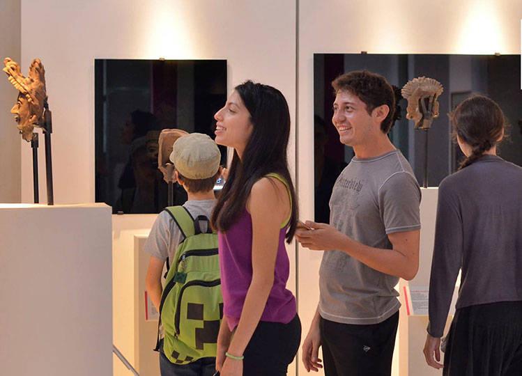 El Museo Regional de Antropología, Palacio Cantón, reúne una muestra de 157 máscaras provenientes de distintos acervos y museos del país : Foto © Palacio Cantón-INAH