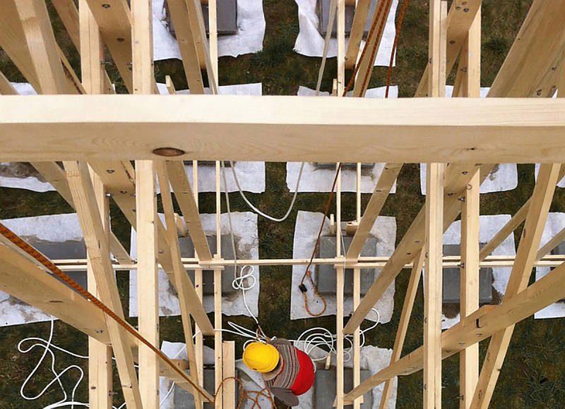 HOUSE ONE Proto-Etructura : Photo © Aloys Mutzenberg - ALICE EPFL